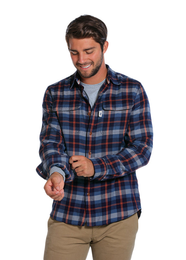 Brushed Buffalo Button Down Shirt by The Normal Brand