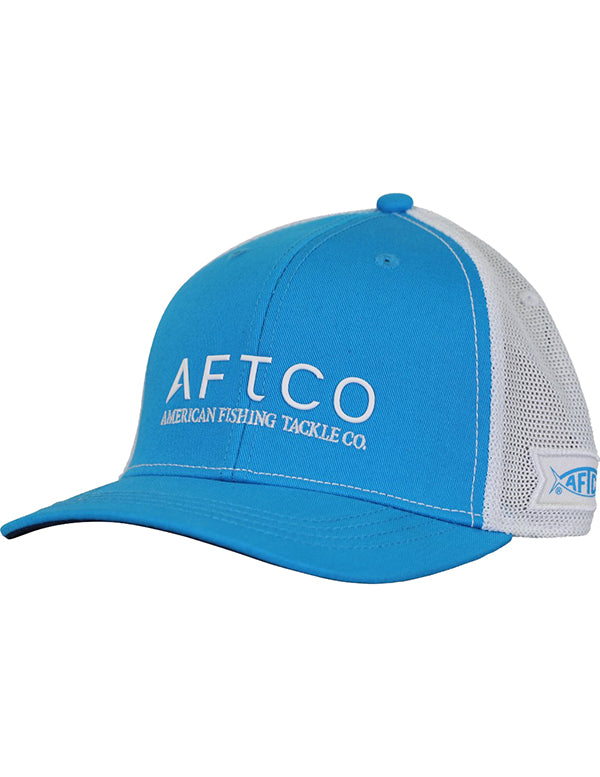 Echo Trucker Hat in Vivid Blue by AFTCO