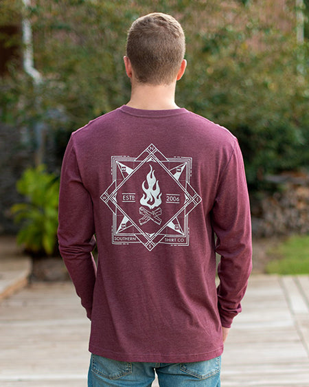 southern shirt co elemental compass ls