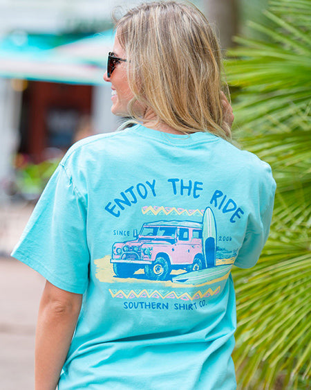 southern shirt co enjoy the ride tee shirt