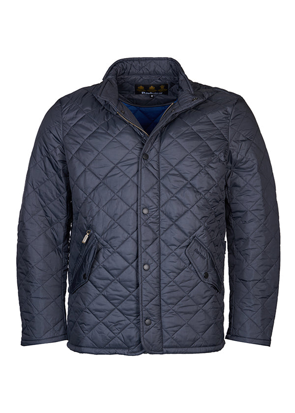 Flyweight Chelsea Quilted Jacket in Navy by Barbour