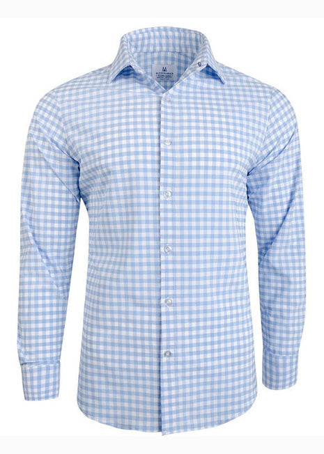 "The ""Hampton"" Button Down in Light Blue by Mizzen+Main"