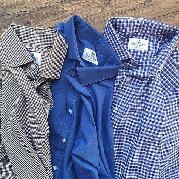 "The ""Howe"" Button Down in Red, White, & Blue by Mizzen+Main"