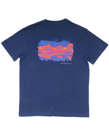 Luke Skysurfer Simple Pocket Tee by waters bluff