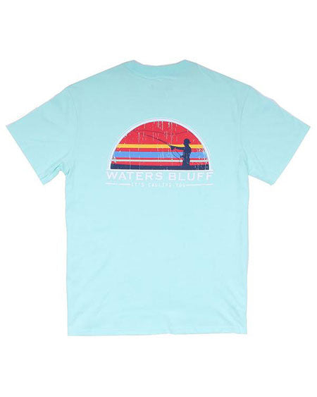 Fisher Simple Pocket Tee by waters bluff