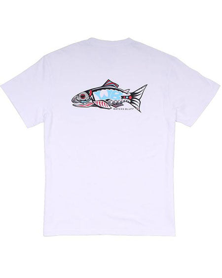 Wake N Bait Simple Pocket Tee by waters bluff