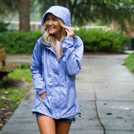 lauren james prep tec rain jacket