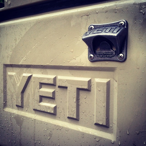Stainless Steel Wall Mounted Bottle Opener by YETI