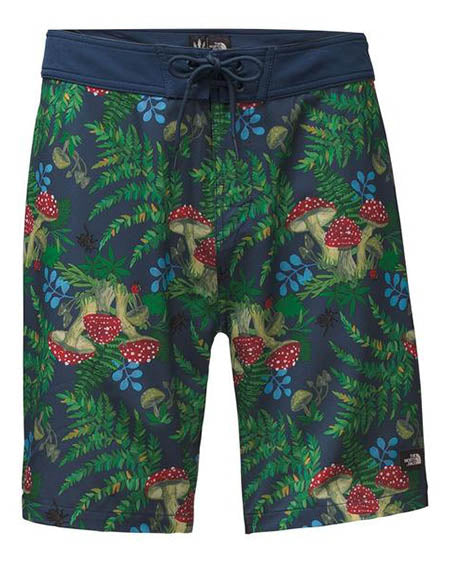 north face mens boardshort