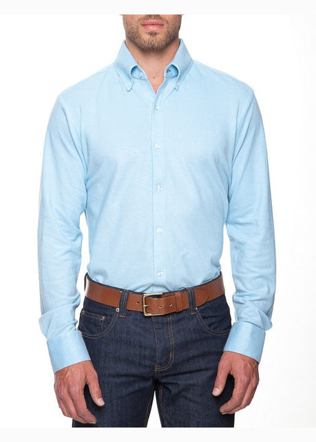 The Oxford Button Down in Light Blue by Mizzen+Main