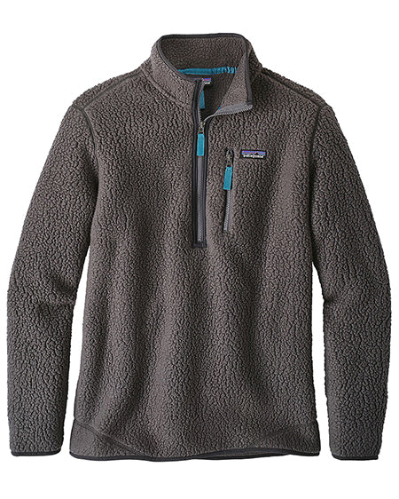 patagonia mens retro pile fleece pullover