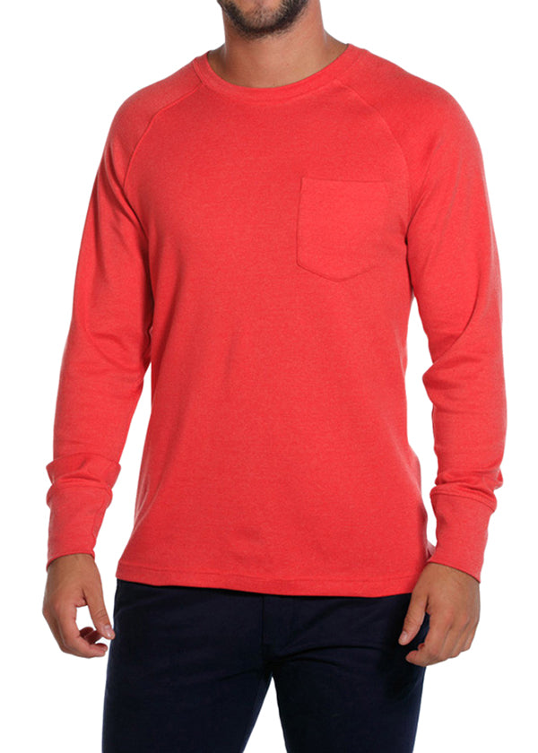 Puremeso Pocket Crew Long Sleeve Tee by The Normal Brand