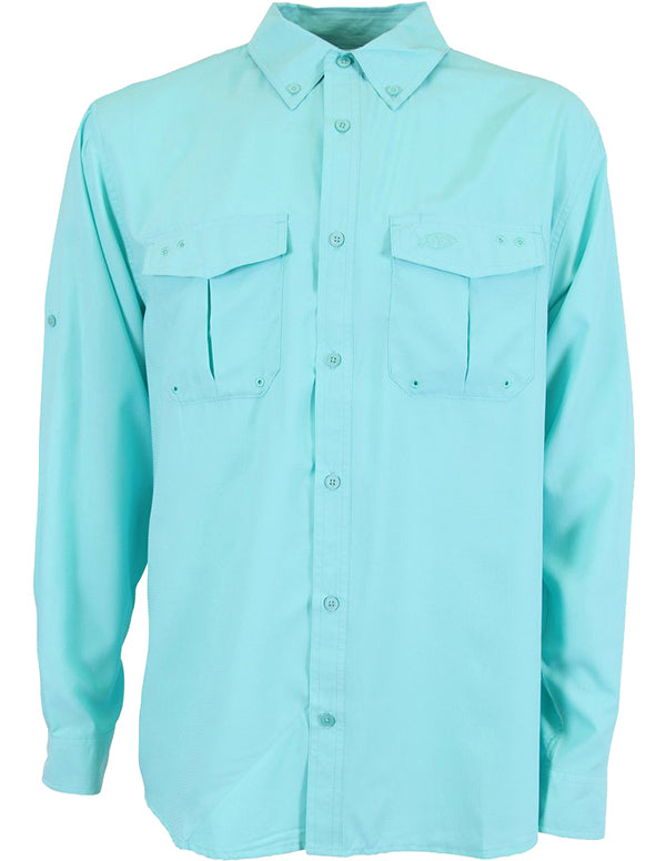 Rangle Long Sleeve Technical Shirt by AFTCO