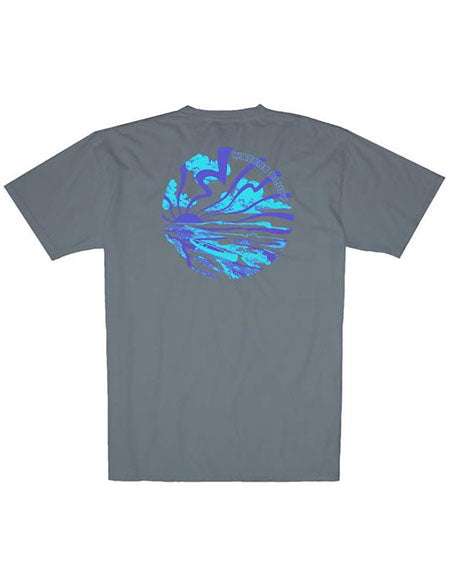 Rayz'd and Confused Simple Pocket Tee by waters bluff