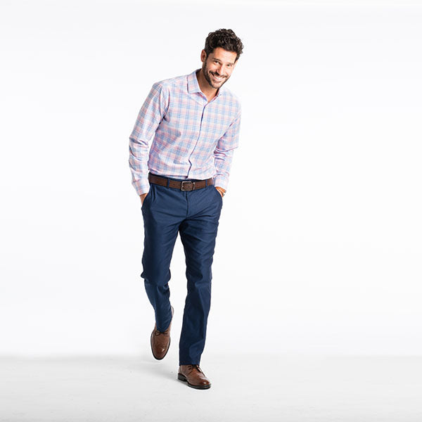 "The ""Savannah"" Button Down in Plaid by Mizzen+Main"