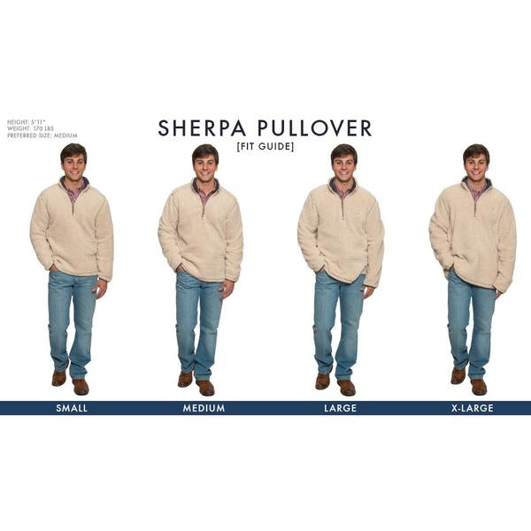 Quarter Zip Sherpa Pullover by The Southern Shirt Co.
