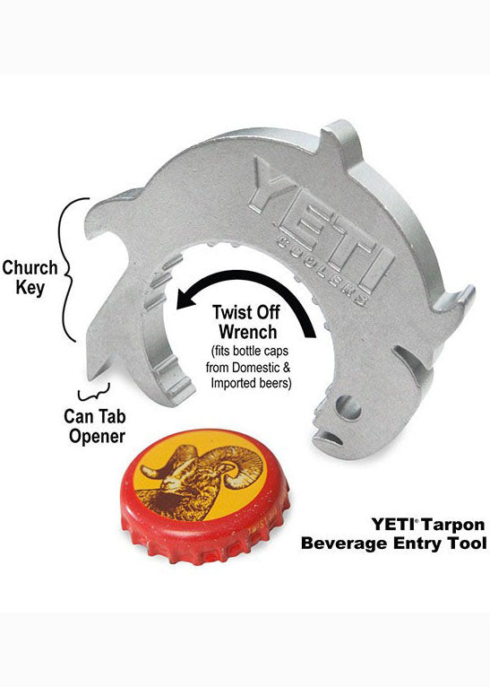 Tarpon Beverage Entry Tool by YETI