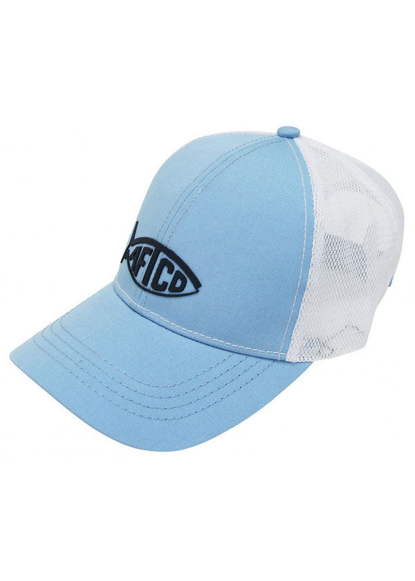 Tech Cooler Fishing Hat in Blue by AFTCO