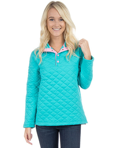 lawson quilted pullover lauren james