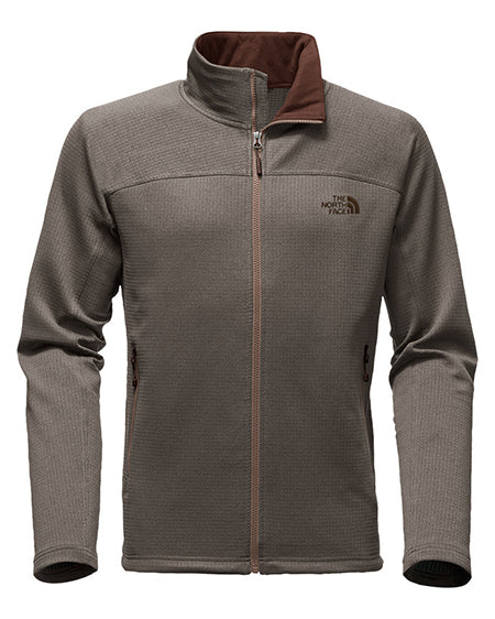 mens needit full zip pullover north face