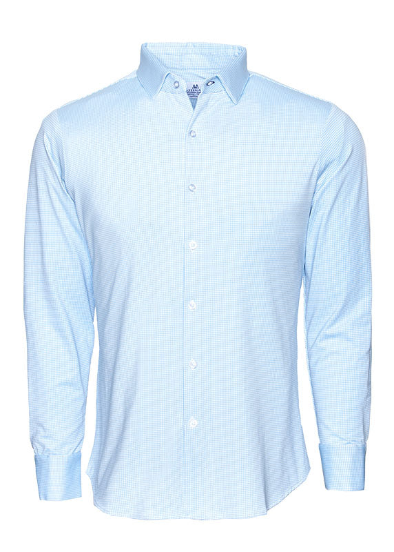 "The ""Whitman"" Button Down in Light Blue by Mizzen+Main"