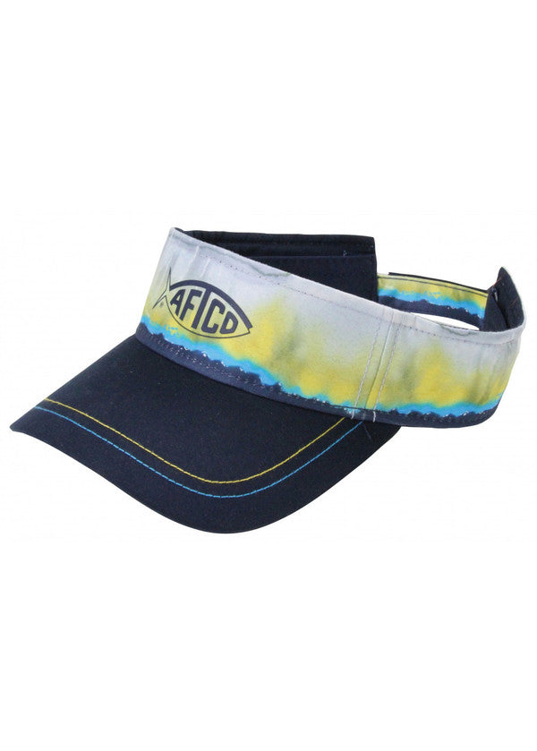 Yellowfin Visor in Navy by AFTCO