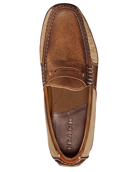 derek bison loafer by trask