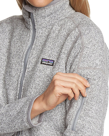 patagonia womens better sweater 1/4 zip