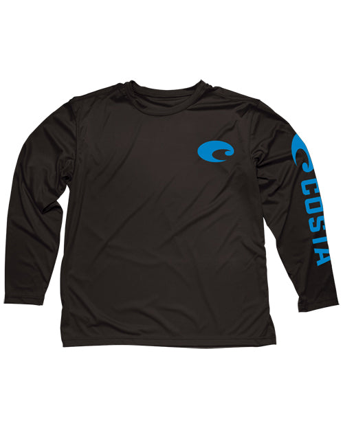 performance core long sleeve tee shirt by costa del mar