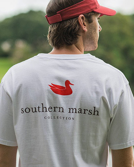 aouthern marsh authentic tee