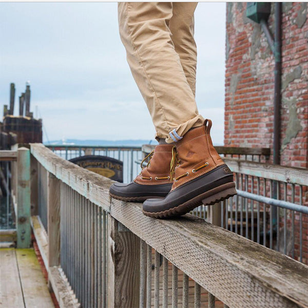 mens sperry duck boots