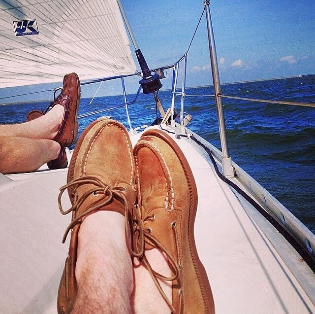 Authentic Original Boat Shoes in Sahara