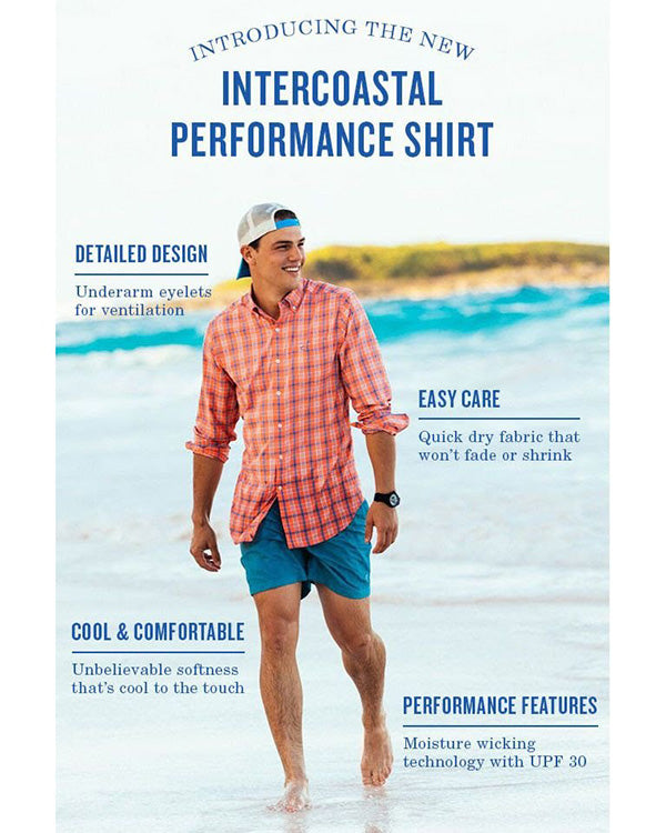 Southern Tide Performance button down