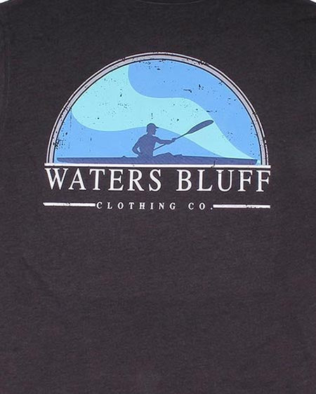 waters bluff paddler tee