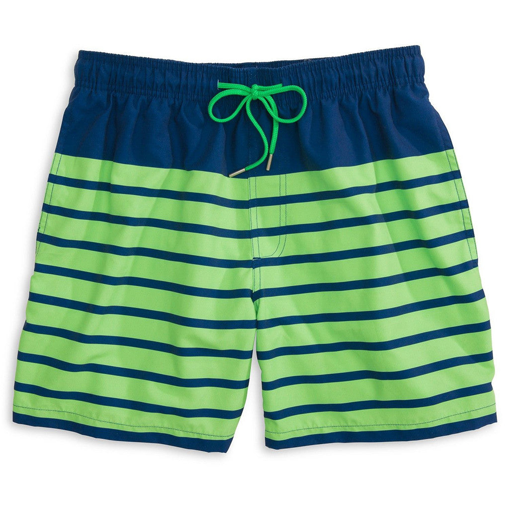 6fb3b00e78 For Shore Stripe Swim Trunks | Southern Tide - Tide and Peak Outfitters