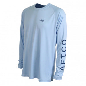 Samurai Long Sleeve Sun Shirt in Sky Blue