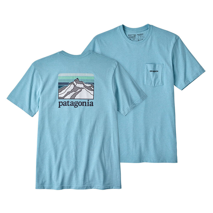 Men's Line Logo Ridge Pocket Responsibili-Tee® - FINAL SALE