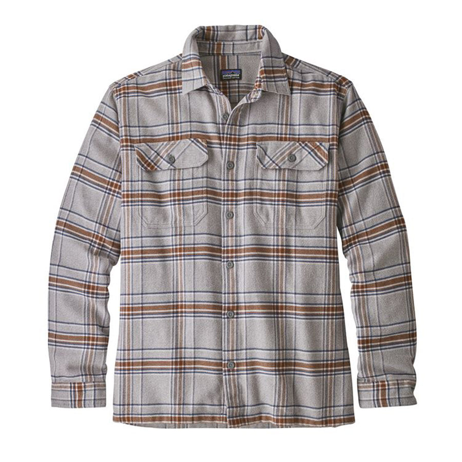 Men's Long-Sleeved Fjord Flannel Shirt - FINAL SALE