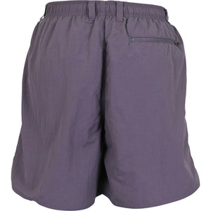 AFTCO Manfish Swim Trunk in Dark Plum