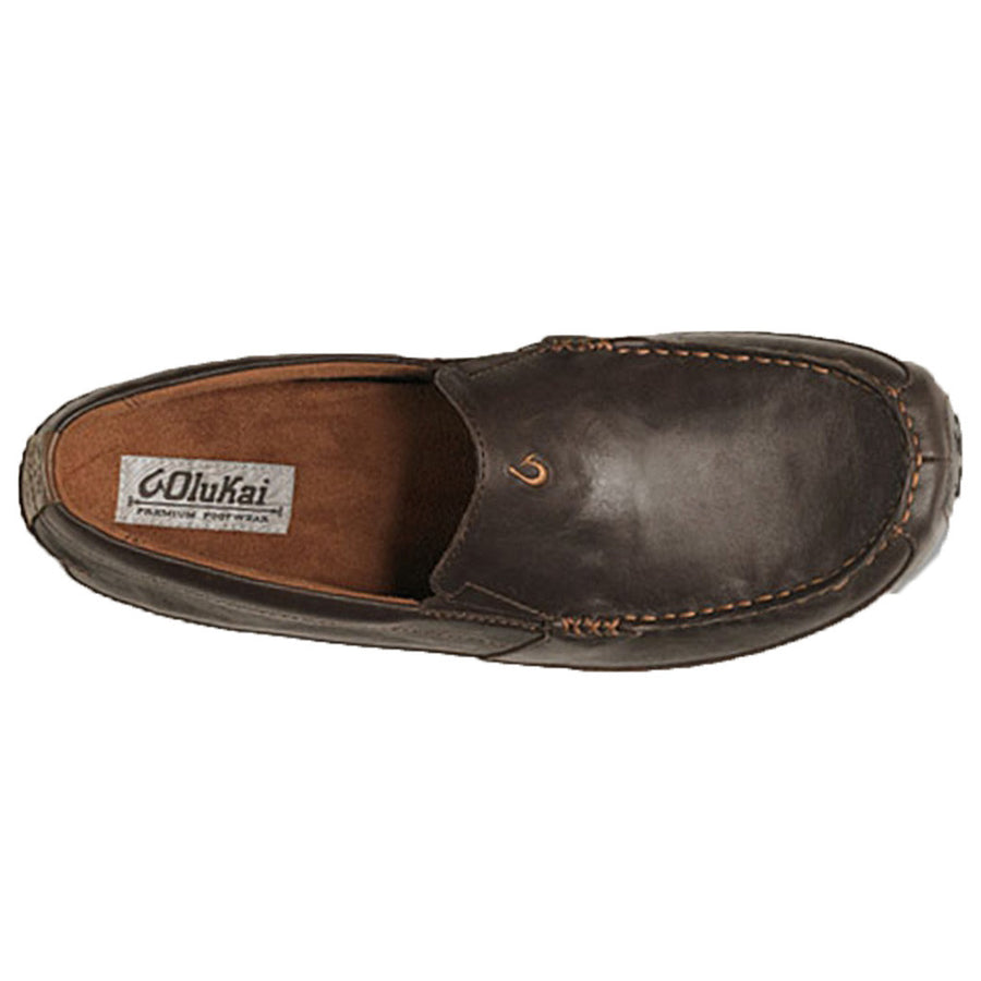 Men's Akepa Moc Loafer in Chocolate   - 1