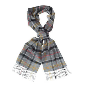Ancient Merino Cashmere Tartan Scarf - FINAL SALE