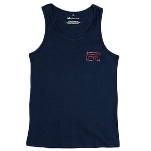 Authentic Flag Tank in Navy by Southern Marsh  - 2