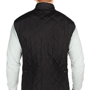 Lowerdale Quilted Gilet in Black