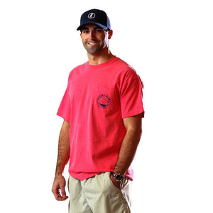 Big Air Tee Shirt in Watermelon Red   - 2