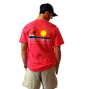 Big Air Tee Shirt in Watermelon Red   - 1