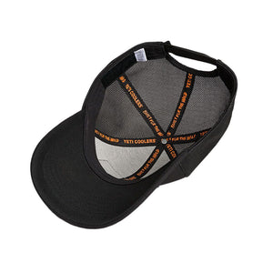 Black On Black Patch Trucker Hat in Black   - 6