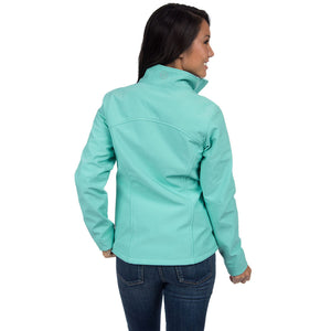 The Bradford Soft Shell Jacket Seafoam   - 2