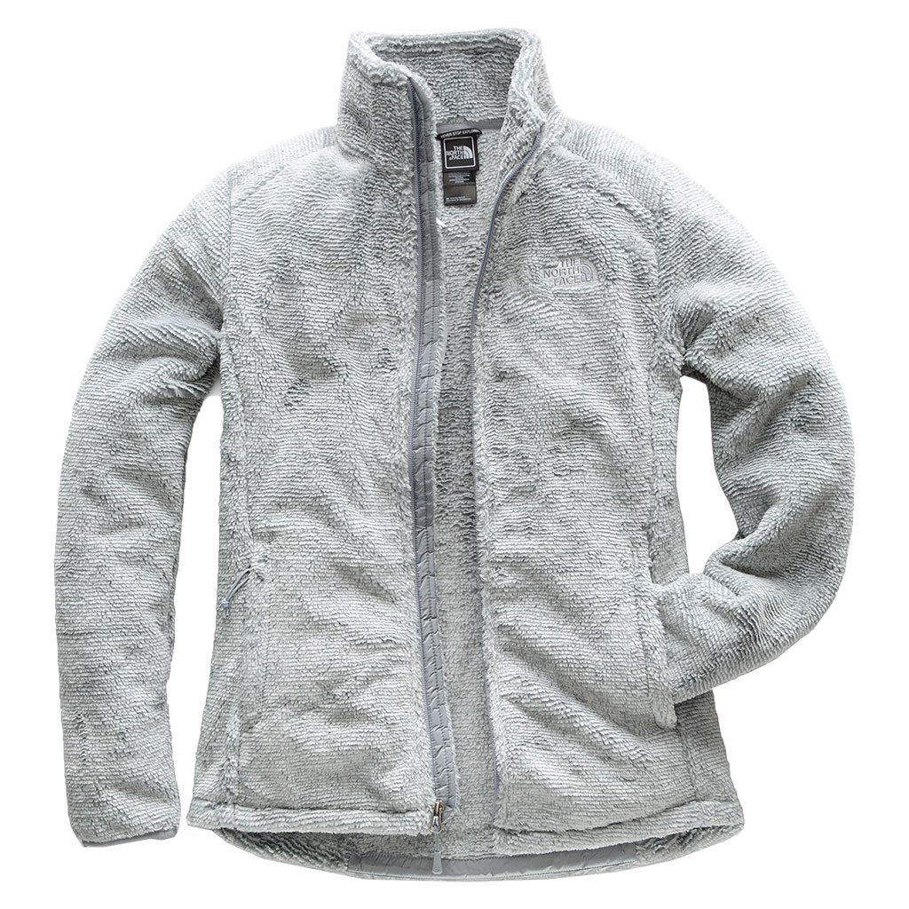 819946775773 Women s Osito 2 Full Zip Jacket in High Rise Grey and Mid Grey Stripe by The