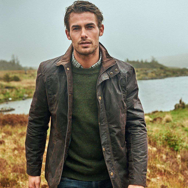 Dubarry of Ireland Carrickfergus Waxed Cotton Jacket by Dubarry of Ireland