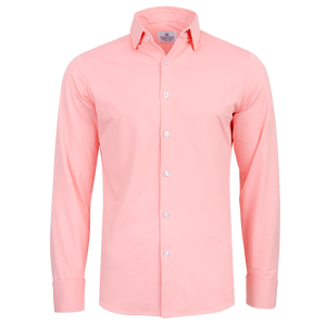 "The ""Captiva"" Button Down in Bright Coral Gingham by Mizzen + Main"